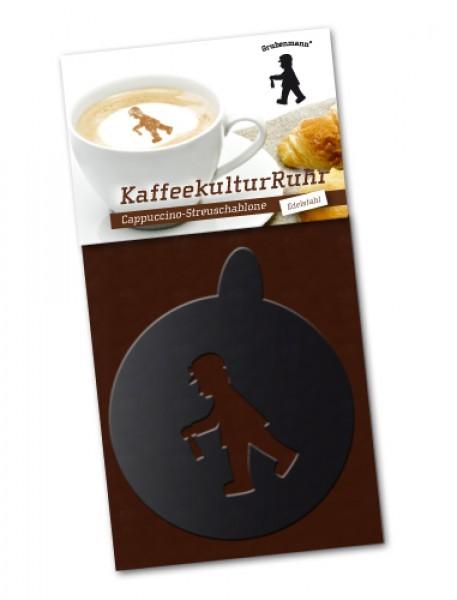 """Cappuccino-Schablone """"Grubenmann"""""""