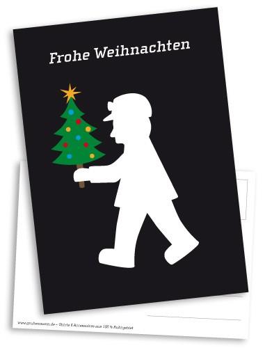 """Postkarte """"Frohe Weihnachten"""""""