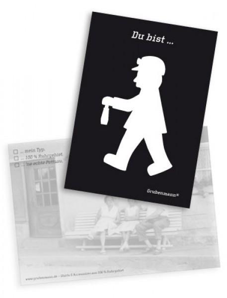 """Postkarte """"Du bist…."""""""