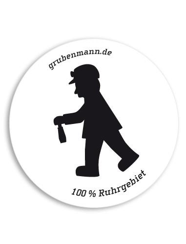"Aufkleber ""100% Ruhrgebiet"""