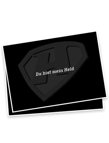 """Postkarte """"Du bist mein Held"""""""