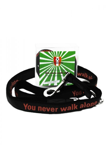 "Hundeleine ""You never walk alone."""